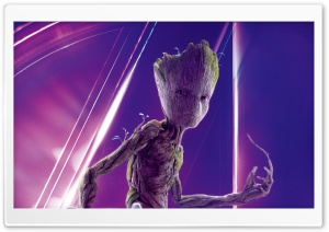 Avengers Infinity War 2018 Movie Groot HD Wide Wallpaper for 4K UHD Widescreen desktop & smartphone