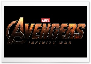 Avengers Infinity War Logo HD Wide Wallpaper for 4K UHD Widescreen desktop & smartphone