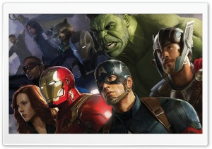 Avengers Infinity War Superheros HD Wide Wallpaper for 4K UHD Widescreen desktop & smartphone