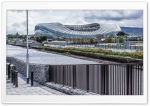 Aviva Stadium, Dublin HD Wide Wallpaper for 4K UHD Widescreen desktop & smartphone