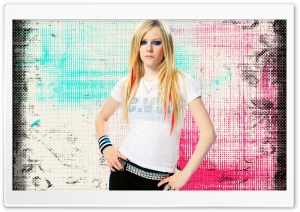 Avril Lavigne Ultra HD Wallpaper for 4K UHD Widescreen desktop, tablet & smartphone
