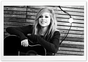 Avril Lavigne HD Wide Wallpaper for 4K UHD Widescreen desktop & smartphone