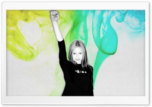 Avril Lavigne HD Wide Wallpaper for Widescreen
