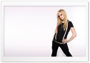 Avril Lavigne 5 HD Wide Wallpaper for Widescreen