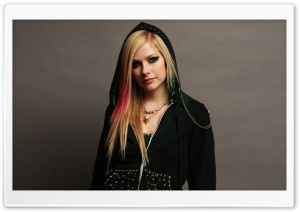Avril Lavigne 9 HD Wide Wallpaper for Widescreen