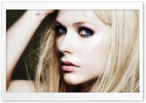 Avril Lavigne Blonde Hair HD Wide Wallpaper for Widescreen