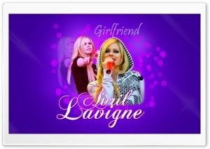 Avril Lavigne Girlfriend HD Wide Wallpaper for Widescreen