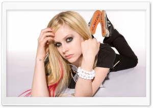 Avril Lavigne Punk HD Wide Wallpaper for Widescreen