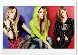 Avril Lavigne Punk Style HD Wide Wallpaper for Widescreen