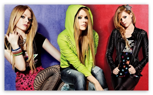 Avril Lavigne Punk Style HD wallpaper for Wide 5:3 Widescreen WGA ; HD 16:9 High Definition WQHD QWXGA 1080p 900p 720p QHD nHD ; Mobile 5:3 16:9 - WGA WQHD QWXGA 1080p 900p 720p QHD nHD ;