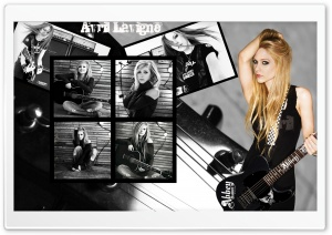 Avril Lavigne Rock HD Wide Wallpaper for Widescreen