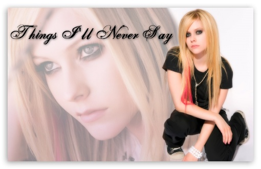 Avril Lavigne Things I'll Never Say ❤ 4K UHD Wallpaper for Wide 16:10 5:3 Widescreen WHXGA WQXGA WUXGA WXGA WGA ; 4K UHD 16:9 Ultra High Definition 2160p 1440p 1080p 900p 720p ; Standard 3:2 Fullscreen DVGA HVGA HQVGA ( Apple PowerBook G4 iPhone 4 3G 3GS iPod Touch ) ; Mobile 5:3 3:2 16:9 - WGA DVGA HVGA HQVGA ( Apple PowerBook G4 iPhone 4 3G 3GS iPod Touch ) 2160p 1440p 1080p 900p 720p ;