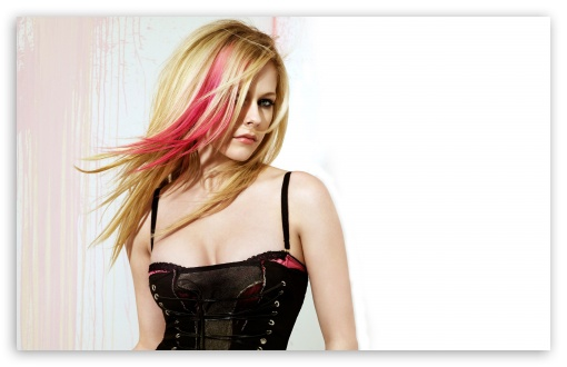 Avril Lavigne With Pink Highlights HD wallpaper for Wide 16:10 5:3 Widescreen WHXGA WQXGA WUXGA WXGA WGA ; HD 16:9 High Definition WQHD QWXGA 1080p 900p 720p QHD nHD ; Standard 4:3 5:4 3:2 Fullscreen UXGA XGA SVGA QSXGA SXGA DVGA HVGA HQVGA devices ( Apple PowerBook G4 iPhone 4 3G 3GS iPod Touch ) ; Tablet 1:1 ; iPad 1/2/Mini ; Mobile 4:3 5:3 3:2 16:9 5:4 - UXGA XGA SVGA WGA DVGA HVGA HQVGA devices ( Apple PowerBook G4 iPhone 4 3G 3GS iPod Touch ) WQHD QWXGA 1080p 900p 720p QHD nHD QSXGA SXGA ;