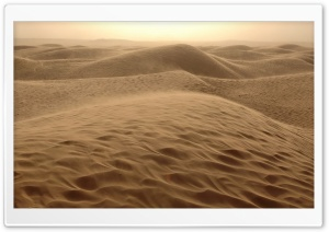 Awesome Hilly Desert HD Wide Wallpaper for Widescreen
