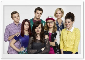 Awkward TV Series Cast HD Wide Wallpaper for Widescreen