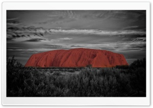 Ayers Rock Australia HD Wide Wallpaper for Widescreen