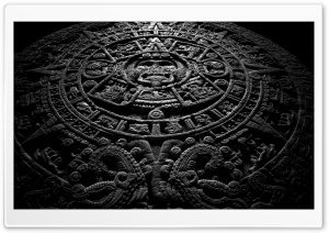 Aztec Calendar Ultra HD Wallpaper for 4K UHD Widescreen desktop, tablet & smartphone
