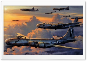B-29 Superfortress HD Wide Wallpaper for Widescreen