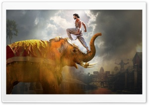 Baahubali 2 The Conclusion HD Wide Wallpaper for 4K UHD Widescreen desktop & smartphone