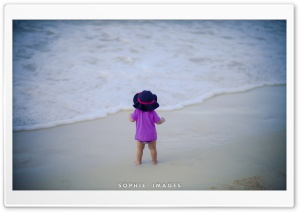 Baby Beach Photography HD Wide Wallpaper for Widescreen