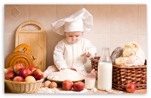 Baby Chef HD wallpaper for Standard 4:3 5:4 Fullscreen UXGA XGA SVGA QSXGA SXGA ; Wide 16:10 5:3 Widescreen WHXGA WQXGA WUXGA WXGA WGA ; HD 16:9 High Definition WQHD QWXGA 1080p 900p 720p QHD nHD ; Other 3:2 DVGA HVGA HQVGA devices ( Apple PowerBook G4 iPhone 4 3G 3GS iPod Touch ) ; Mobile VGA WVGA iPhone iPad PSP Phone - VGA QVGA Smartphone ( PocketPC GPS iPod Zune BlackBerry HTC Samsung LG Nokia Eten Asus ) WVGA WQVGA Smartphone ( HTC Samsung Sony Ericsson LG Vertu MIO ) HVGA Smartphone ( Apple iPhone iPod BlackBerry HTC Samsung Nokia ) Sony PSP Zune HD Zen ;