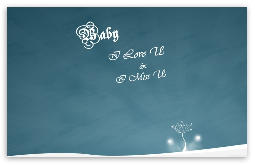Download Baby I Love U HD Wallpaper