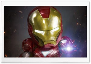 Baby Iron Man Ultra HD Wallpaper for 4K UHD Widescreen desktop, tablet & smartphone