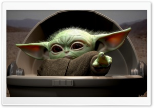 Baby Yoda Ultra HD Wallpaper for 4K UHD Widescreen desktop, tablet & smartphone