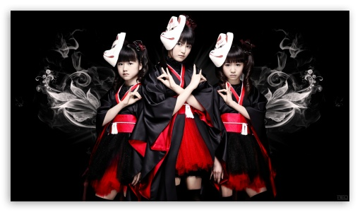 Babymetal ❤ 4K UHD Wallpaper for 4K UHD 16:9 Ultra High Definition 2160p 1440p 1080p 900p 720p ; Tablet 1:1 ; Mobile 16:9 - 2160p 1440p 1080p 900p 720p ;