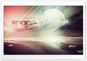 Back To Space HD Wide Wallpaper for Widescreen
