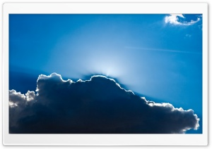 Backlit Cloud HD Wide Wallpaper for Widescreen