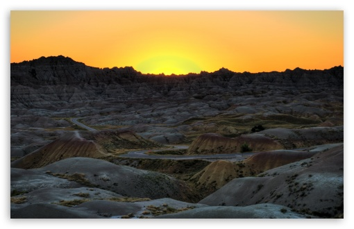 Badlands National Park Sunset, South Dakota HD wallpaper for Wide 16:10 5:3 Widescreen WHXGA WQXGA WUXGA WXGA WGA ; HD 16:9 High Definition WQHD QWXGA 1080p 900p 720p QHD nHD ; Standard 4:3 5:4 3:2 Fullscreen UXGA XGA SVGA QSXGA SXGA DVGA HVGA HQVGA devices ( Apple PowerBook G4 iPhone 4 3G 3GS iPod Touch ) ; Tablet 1:1 ; iPad 1/2/Mini ; Mobile 4:3 5:3 3:2 16:9 5:4 - UXGA XGA SVGA WGA DVGA HVGA HQVGA devices ( Apple PowerBook G4 iPhone 4 3G 3GS iPod Touch ) WQHD QWXGA 1080p 900p 720p QHD nHD QSXGA SXGA ;