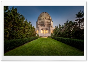Bahai Temple HD Wide Wallpaper for Widescreen