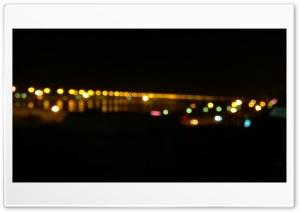 Bahrain bridge bokeh Ultra HD Wallpaper for 4K UHD Widescreen desktop, tablet & smartphone