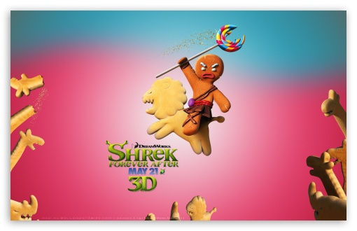 Bake No Prisoners, Gingerbread Man, Shrek Forever After HD wallpaper for Wide 16:10 5:3 Widescreen WHXGA WQXGA WUXGA WXGA WGA ; HD 16:9 High Definition WQHD QWXGA 1080p 900p 720p QHD nHD ; Standard 4:3 5:4 3:2 Fullscreen UXGA XGA SVGA QSXGA SXGA DVGA HVGA HQVGA devices ( Apple PowerBook G4 iPhone 4 3G 3GS iPod Touch ) ; iPad 1/2/Mini ; Mobile 4:3 5:3 3:2 16:9 5:4 - UXGA XGA SVGA WGA DVGA HVGA HQVGA devices ( Apple PowerBook G4 iPhone 4 3G 3GS iPod Touch ) WQHD QWXGA 1080p 900p 720p QHD nHD QSXGA SXGA ;