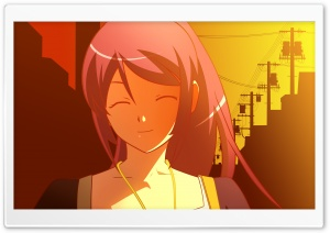 Bakemonogatari Hitagi X HD Wide Wallpaper for Widescreen