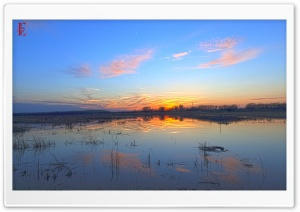 Baker Wetlands, Kansas HD Wide Wallpaper for Widescreen
