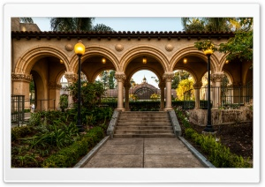 Balboa Park Arches HD Wide Wallpaper for 4K UHD Widescreen desktop & smartphone