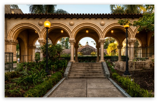 Balboa Park Arches HD wallpaper for Wide 16:10 5:3 Widescreen WHXGA WQXGA WUXGA WXGA WGA ; HD 16:9 High Definition WQHD QWXGA 1080p 900p 720p QHD nHD ; UHD 16:9 WQHD QWXGA 1080p 900p 720p QHD nHD ; Standard 4:3 5:4 3:2 Fullscreen UXGA XGA SVGA QSXGA SXGA DVGA HVGA HQVGA devices ( Apple PowerBook G4 iPhone 4 3G 3GS iPod Touch ) ; Tablet 1:1 ; iPad 1/2/Mini ; Mobile 4:3 5:3 3:2 16:9 5:4 - UXGA XGA SVGA WGA DVGA HVGA HQVGA devices ( Apple PowerBook G4 iPhone 4 3G 3GS iPod Touch ) WQHD QWXGA 1080p 900p 720p QHD nHD QSXGA SXGA ;