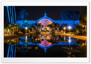 Balboa Park Botanical Building HD Wide Wallpaper for Widescreen