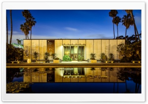 Balboa Park Reflecting Pool HD Wide Wallpaper for Widescreen