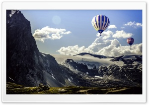 Balloon HD Wide Wallpaper for Widescreen