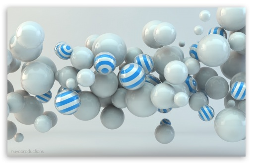 Download Balls 3D UltraHD Wallpaper