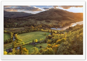 Balquhidder Village...