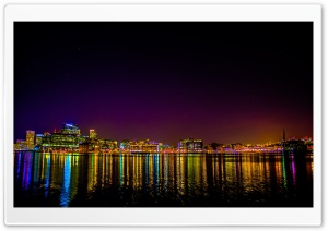 Baltimore From Tide Point HD Wide Wallpaper for 4K UHD Widescreen desktop & smartphone