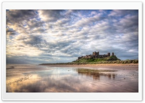 Bamburgh Castle Northumberland HD Wide Wallpaper for 4K UHD Widescreen desktop & smartphone