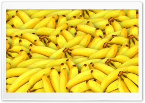 Bananas Ultra HD Wallpaper for 4K UHD Widescreen desktop, tablet & smartphone