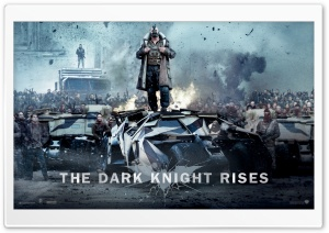 Bane Dark Knight Rises HD Wide Wallpaper for Widescreen