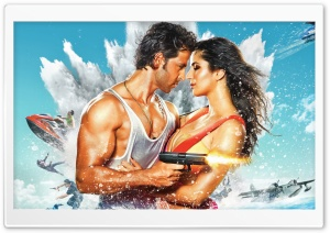 Bang Bang Hrithik And Katrina HD Wide Wallpaper for Widescreen