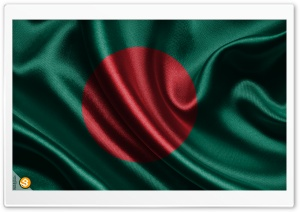 Bangladesh National Flag HD Wide Wallpaper for Widescreen